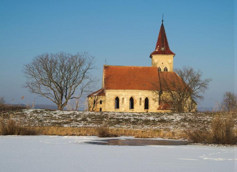 nové mlýny kostel